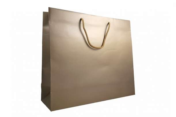 Shopper lux bronzo matt