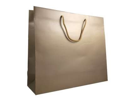 Shopper lux bronzo matt personalizzabile