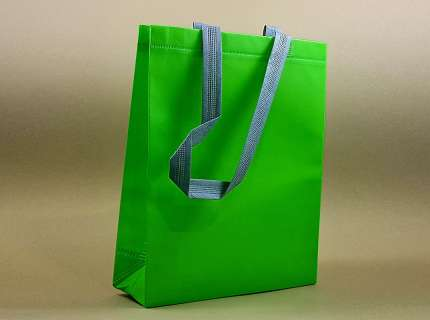 Shopper lux tnt verde lime matt personalizzabile