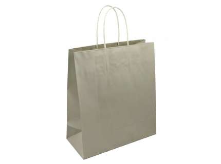 Shopper in carta platino personalizzabile
